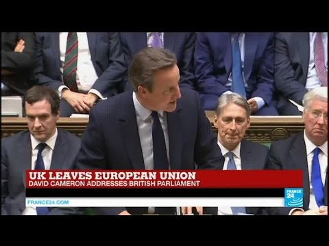 Brexit vote: Prime Minister David Cameron addresses British Parliament
