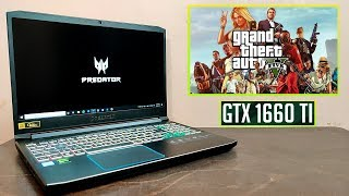 GTA 5 Gaming Review on Acer Predator Helios 300 2019 (i7 9750H) (GTX 1660 ti) 🔥