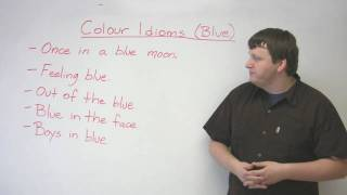 Idioms in English - 'Blue'