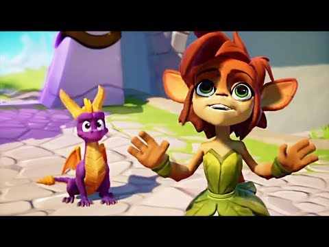 Spyro Reignited Trilogy - Elora New Design Reveal + Story Cutscene First Look 2018
