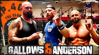 Ep.40 Luke Gallows & Karl 'abs' Anderson Workout...