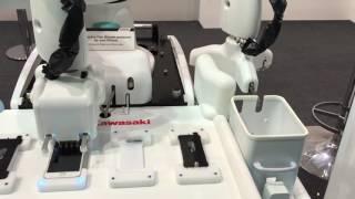 iPhone Screen Protector Application - Kawasaki duAro robot & Pepper