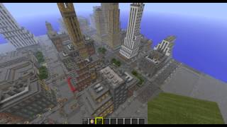 New York in Minecraft-Download Map and Texture Pack