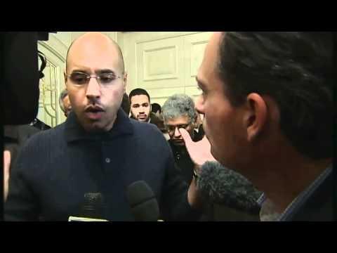 Libya: Saif Gaddafi talks to Channel 4 News