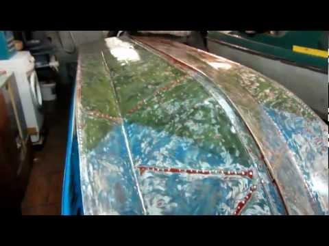 протерся киль у лодки обь-м как отремонтировать отводит влагу поверхности