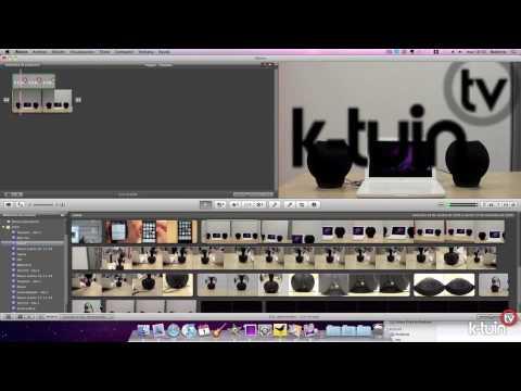 Como Insertar una imagen en un vídeo con iMovie 09
