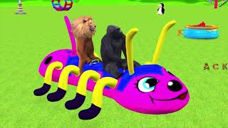 kids Animals, learning ABC, learning numbers, kids movies