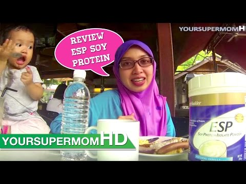 Shaklee ESP (Review Energizing Soy Protein) with English Subtitle yoursupermomHD