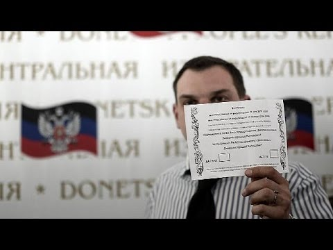 Ukraine: Donetsk polling stations gear up for Sunday referendum