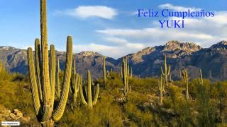 Yuki  Nature & Naturaleza - Happy Birthday