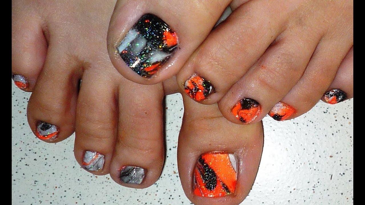 Marble Toe Nail Designs: Creative water marble nail art designs ...