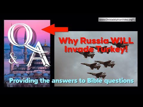 End Time Bible Prophecy - Why Russia 'WILL' invade Turkey - Remember 1453 !!