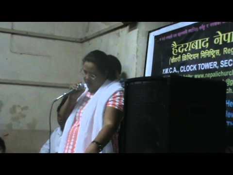 Mamta Rasaily singing_Mera Sangeet Hai Tu.MPG