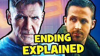 Blade Runner 2049 ENDING EXPLAINED & Replicant Theory