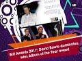 Brit Awards 2017  David Bowie dominates  wins Album of the Year award - ANI  News