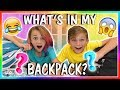 WHAT S IN MY BACKPACK SCHOOL S OUT We Are The Davises mp3