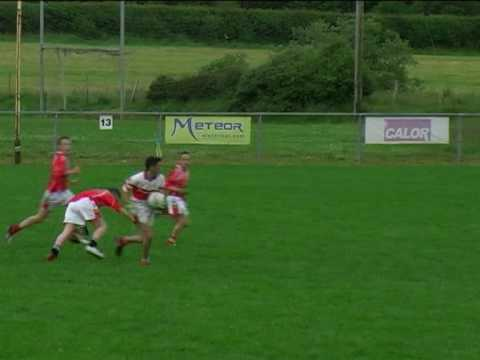Ryan Devlin goal v Brackaville (Tyrone U-14 League Final 2007) Video