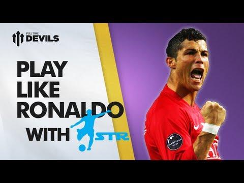 Learn Cristiano Ronaldo Skills - With Str Skill School | Manchester United Skills video
