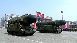 DPRK leader Kim Jong Un attends massive military parade