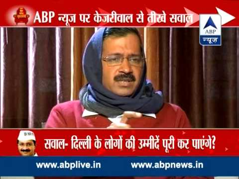 ABP Live: Hard-hitting questions from Arvind Kejriwal
