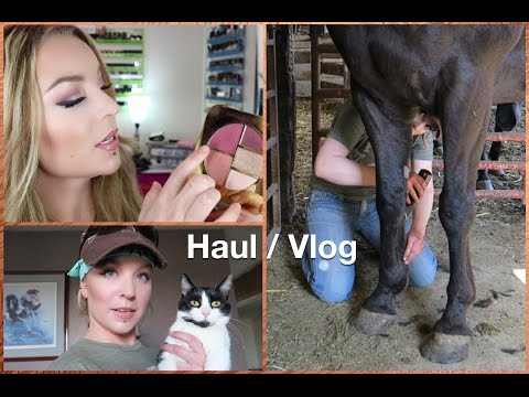 Haul / Horse Vlog : Tom Ford Summer 2015 w/ swatches