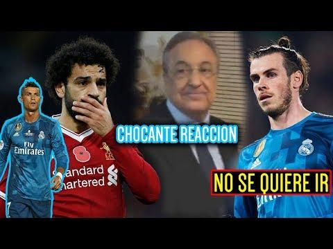BALE NO SE QUIERE IR | CHOCANTE REACCION DE FLORENTINO | SALAH MEJOR QUE CR7 thumbnail