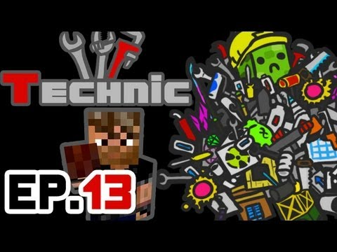 Technic   Preparing an Automatic Crafting Table System   Ep.13