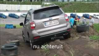 Subaru Forester off-road 2015 Subaru Club Nederland 20 jaar
