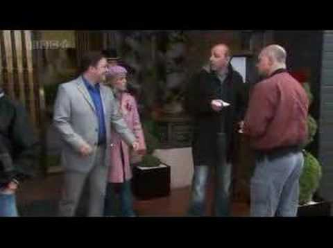 Karl Pilkington in the Extras Special