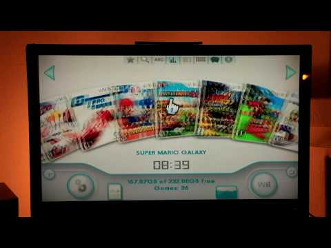 Softmodded Wii + USB Loader GX