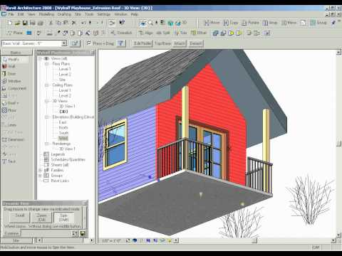 Roof by Extrusion (Revit Step 5.0)