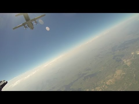 Skydiving from a RoAF C-27J Spartan at 5000m AGL