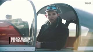 Pierrick, pilote d'avions à 15 ans !