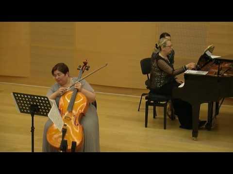 Иоганн Себастьян Бах - Соната для виолы да гамба и клавира №3 соль минор