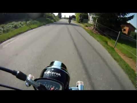 Monster Energy Dax Skyteam 50cc ✖ GoPro HD Hero