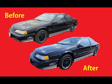 Polishing Car Paint How To Polish DIY Restore Dry Faded cars #6