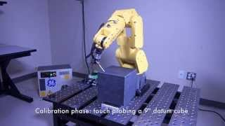 Robot Calibration Using a Touch Probe