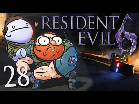 Resident Evil 6 /w Cry! [Part 28] - Clash on the Big Bridge
