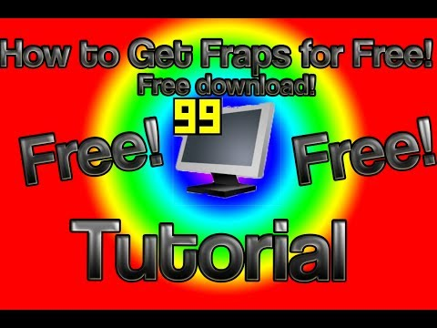 Download the licensed fraps installer http adf ly bfuoq or http