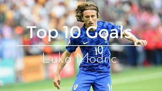 Top 10 Goals ● Luka Modric ● HD ●