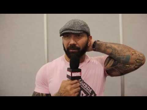 Marvel's Guardians of the Galaxy - Dave Bautista at Wizard World Philadelphia