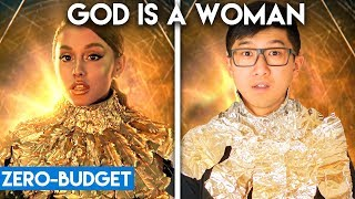 ARIANA GRANDE WITH ZERO BUDGET! (God is a Woman PARODY)