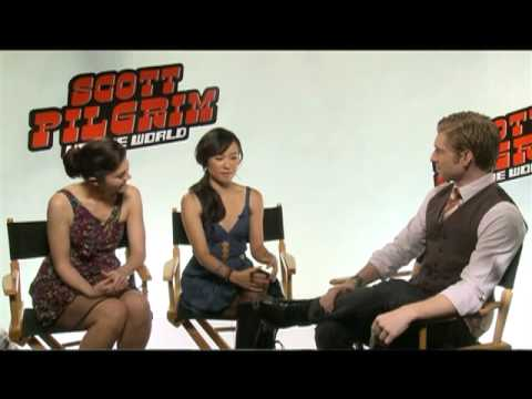 SCOTT PILGRIM VS. THE WORLD Interviews: Michael Cera, Edgar Wright, Jason Schwartzman and more!