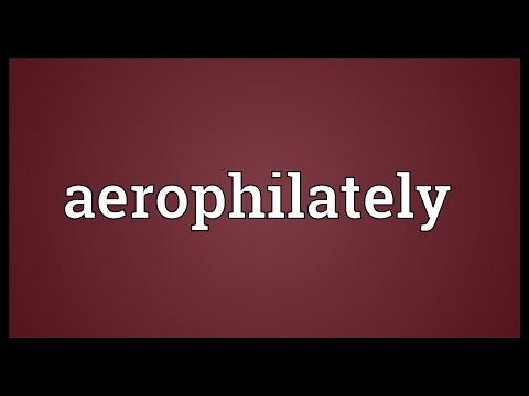 Header of aerophilately