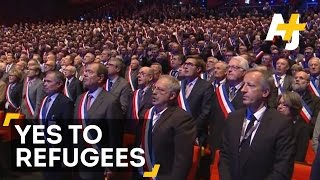 France Still Welcoming Syrian Refugees, Unlike Many U.S. Governors