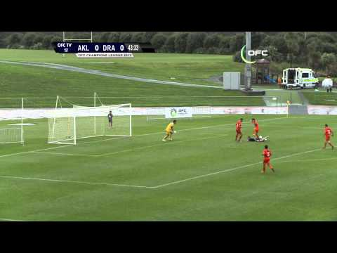2013 OFC Champions League 2014.04.17 Auckland City FC vs AS Dragon