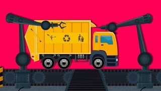 Toy Factory | Garbage Truck | Car Garage And Service