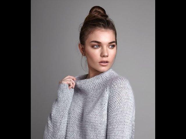 Вяжем Пуловеры Спицами - видео-модели  - 2019 / Knit Pullovers Knitting Videos