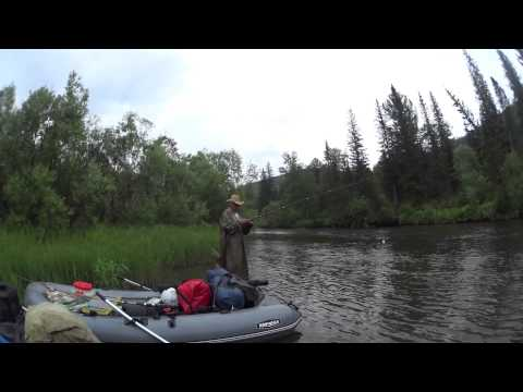 рыбалка сплав и рыбалка по рекам сибири видео