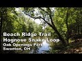 Hognose Snake Loop | Beach Ridge MTB Trail | Oak Openings | Swanton, OH